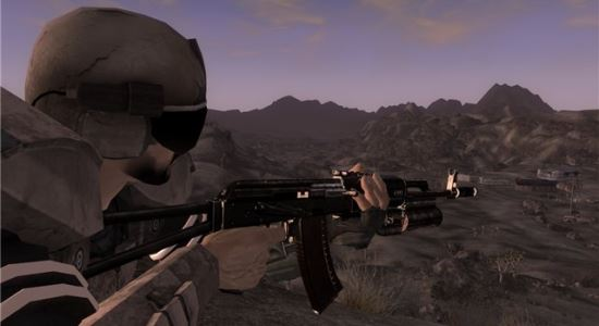"AK 74M ""Urban Warrior"" для Fallout: New Vegas"