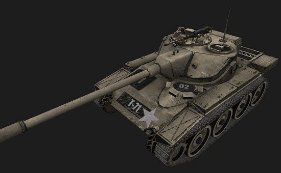 T71 #15 для игры World Of Tanks