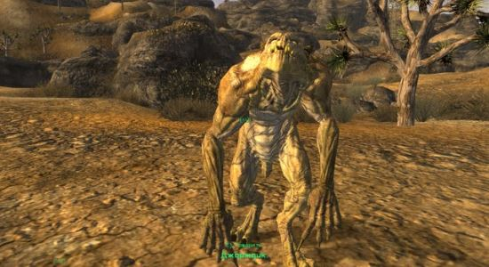 Baby Deathclaw Commander для Fallout: New Vegas