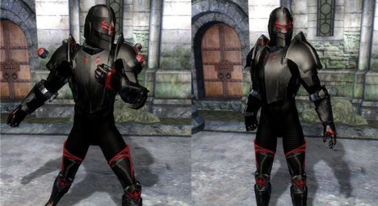 Броня Темного Тамплиера для The Elder Scrolls IV: Oblivion