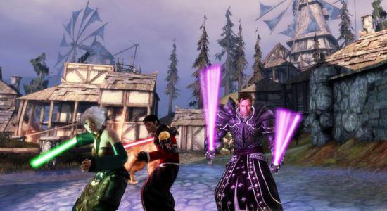 Световые мечи от Rapture (обновлено) для Dragon Age: Origins