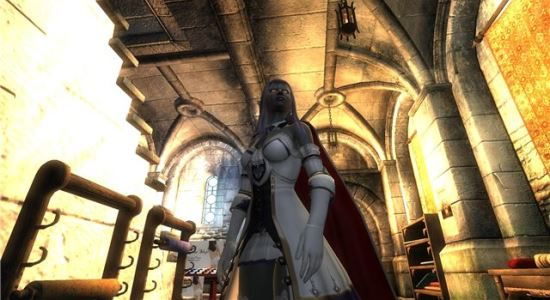 Броня Серафимы для The Elder Scrolls IV: Oblivion