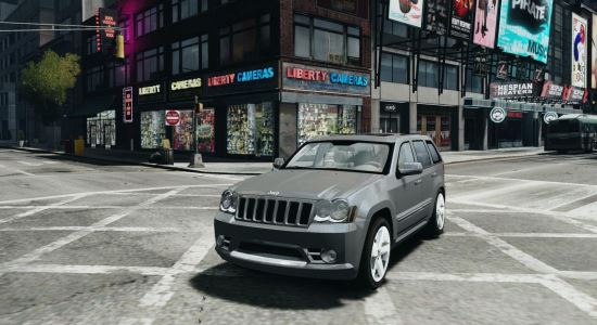 Jeep Grand Cherokee SRT8 для Grand Theft Auto IV
