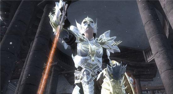 Броня и оружие Рыцаря-Дракона для The Elder Scrolls IV: Oblivion