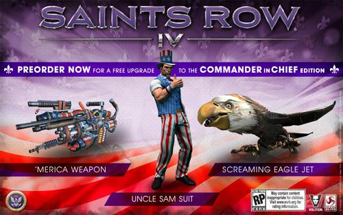 Сохранение для Saints Row 4