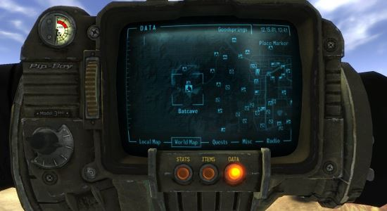 Костюм Бэтмена/ Batman Suit (Русская версия) 4.0 для Fallout: New Vegas