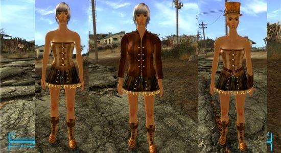Steampunk LadyBlaze для Fallout: New Vegas