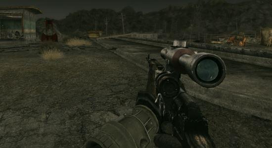 СВД - частное обновление (На русском) для Fallout: New Vegas