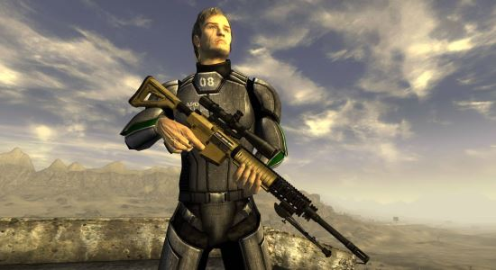 Knights SR-25 для Fallout: New Vegas