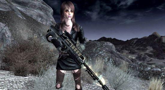 "Лазерная пушка ""Анджелика"" для Fallout: New Vegas"