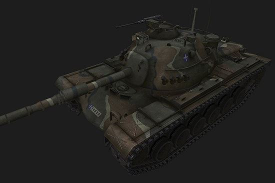 M48A1 #31 для World Of Tanks