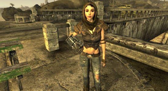 Рестайлинг Вероники и новый облик Курьера для Fallout: New Vegas