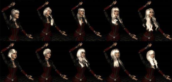 Coolsims Hair Pack для The Elder Scrolls IV: Oblivion