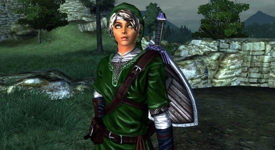Legend of Zelda Hero of Time Remake для The Elder Scrolls IV: Oblivion