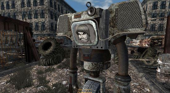 Суровые Мохавские Секъюритроны HD для Fallout: New Vegas