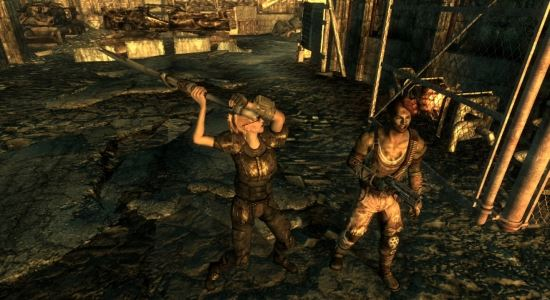 Холодное оружие из Нью Вегаса для Fallout 3