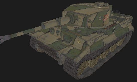 Tiger VI #205 для World Of Tanks