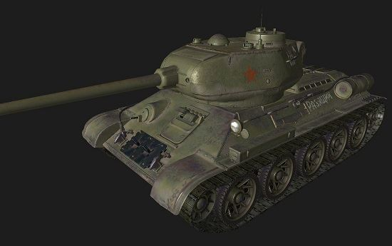 Т34-85 #101 для World Of Tanks