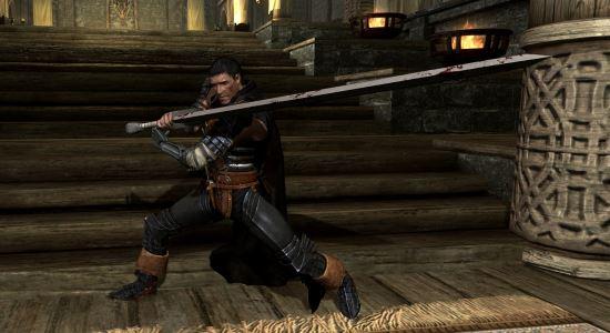 Броня Чёрного Мечника \ Black Swordman Armor (SAO) для TES V: Skyrim