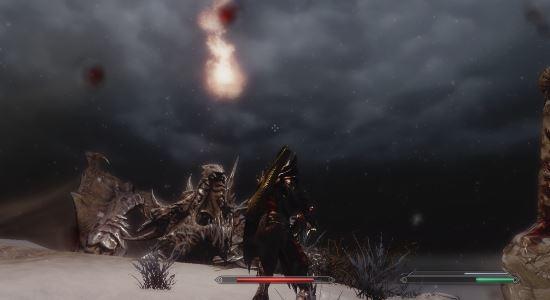 Броня из чешуи Алдуина \ Alduins Scale Armor для TES V: Skyrim