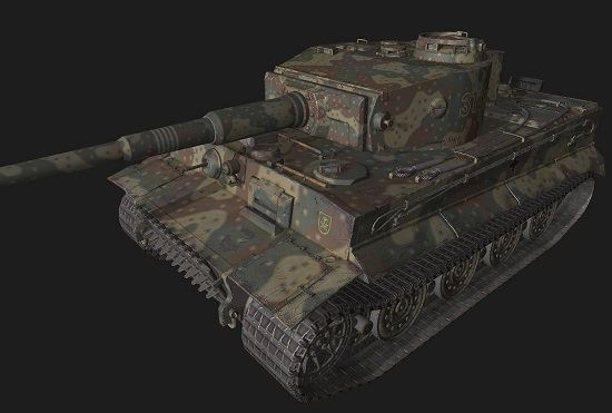 Tiger VI #206 для World Of Tanks