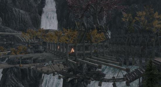 Поместье Мегиддо \ Armageddon Manor для TES V: Skyrim