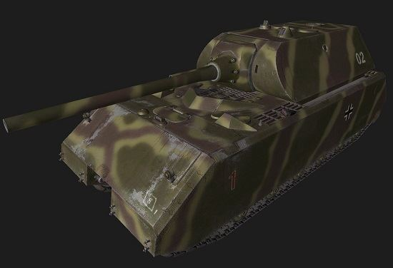 Maus #116 для World Of Tanks