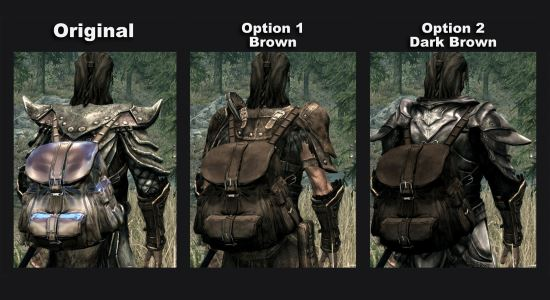 Skyrim Leather Backpack | Crazy Backpacks