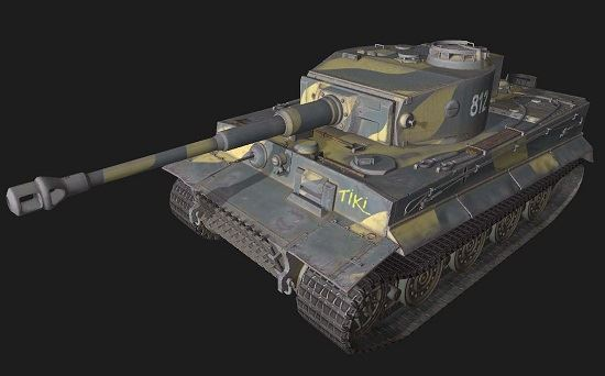 Tiger VI #207 для World Of Tanks
