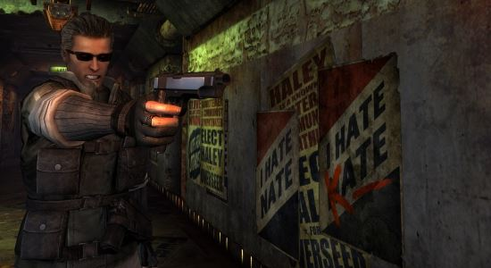 Resident Evil - Albert Wesker Race для Fallout: New Vegas