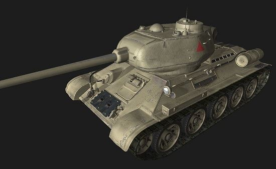 Т34-85 #102 для World Of Tanks