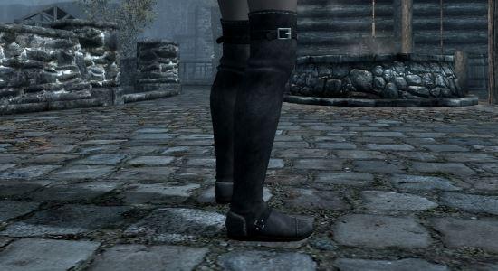 Кожаные сапоги UNP для TES V: Skyrim