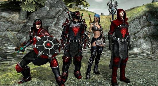SG's Dragon Knight Armour Pack для Dragon Age 2