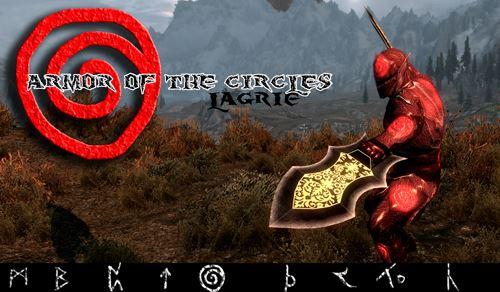 """Armor of the circles \ Броня""""Круг Ада"""" для TES V: Skyrim"""