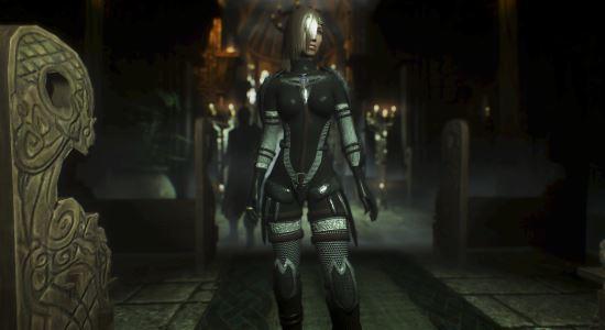 Сет Стальной девы / Steel Maiden Armor для TES V: Skyrim