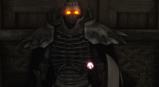 Броня Рыцаря-Скелета \ Knight of Skeleton armor для TES V: Skyrim