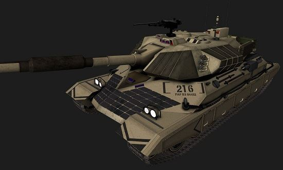ИС-7 #123 для World Of Tanks