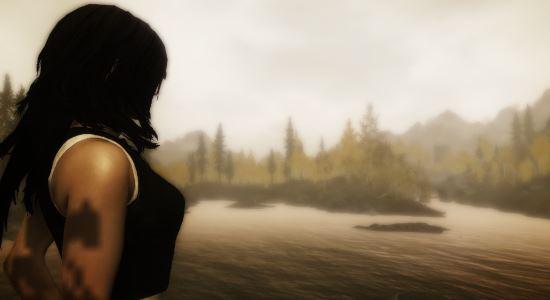 Одежда Тифы / Clothing Tifa - Final Fantasy VII для TES V: Skyrim