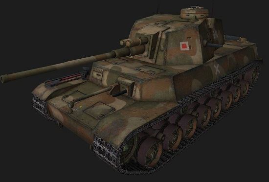 Type 5 Chi-Ri #2 для World Of Tanks