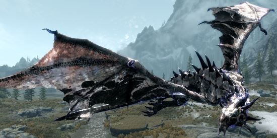 Deadly Dragons v 6.4.1b для TES V: Skyrim
