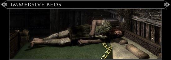 Immersive Beds с адаптированным русским переводом для TES V: Skyrim
