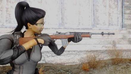 Самозарядный карабин Ruger Mini-14 для Fallout: New Vegas