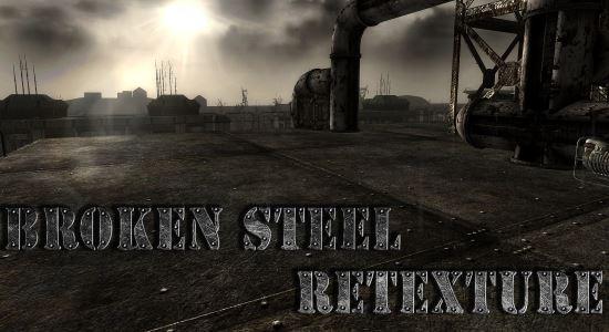 DLC Broken Steel ReTexture для Fallout 3
