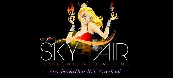 Скачать Новые причёски от Апачи на всех НПС / ApachiiSkyHair