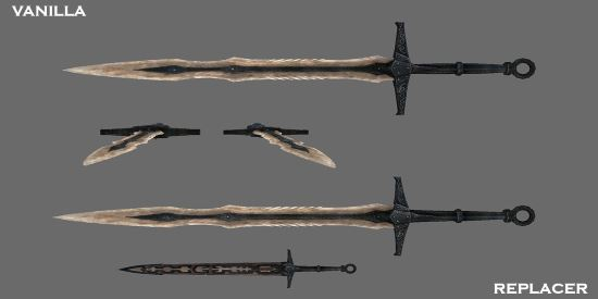 Better Shaped Weapons для TES V: Skyrim