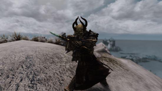 Skull Lord armor set / Броня Лорда-Черепа для TES V: Skyrim
