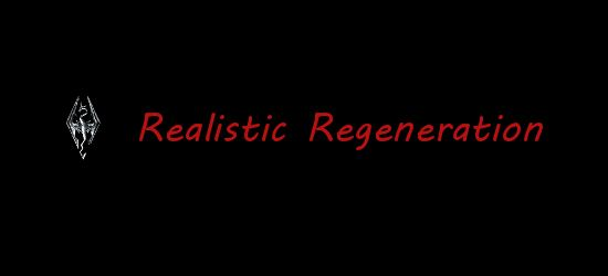 Реалистичная Регенерация v 3.11 для TES V: Skyrim