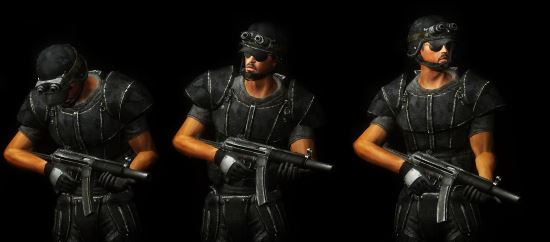 Special weapons and Tactical Armor для Fallout: New Vegas