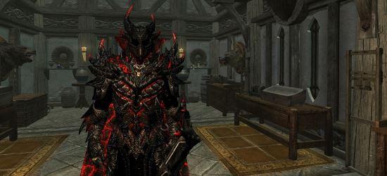 Адская броня и оружие - Pain update / Hellset by Marseanin v 1.5 для TES V: Skyrim