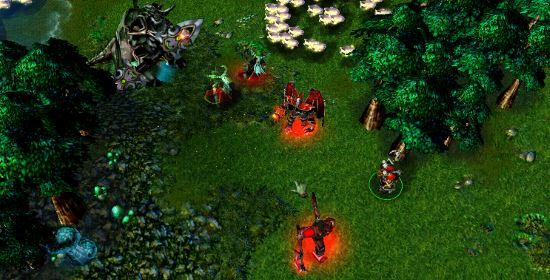 Пылающий легион для Warcraft 3